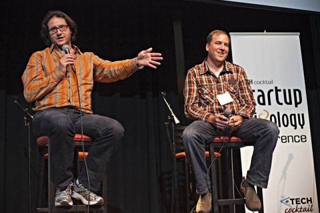Brad Feld and David Cohen speak at Tech Cocktail's Startup Mixology Conference