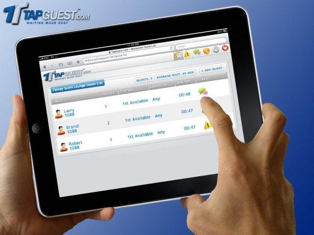 TapGuest iPad Screenshot