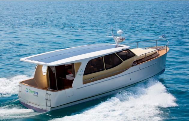 Greenline Hybrid Power Boat Innovation At Sea
