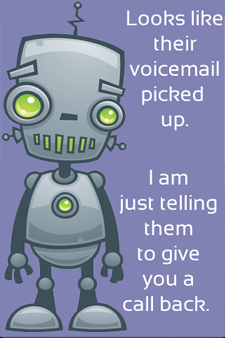 deaftel voicemail screen