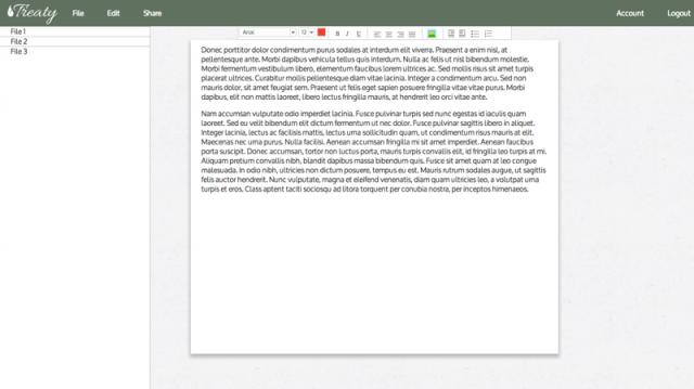Treaty screenshot