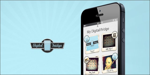 Digitize photos and greeting cards with digital fridge entertainment m4hsunfo