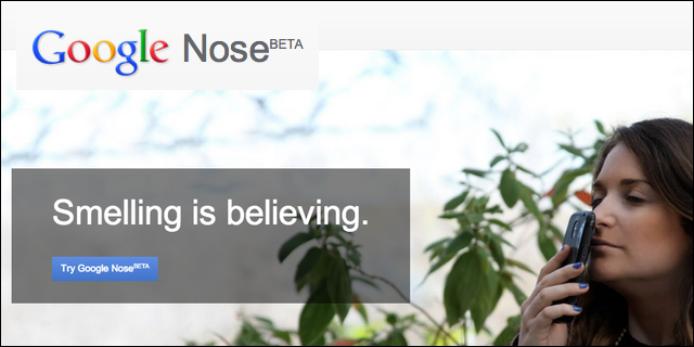 Google Nose: Smell the World Right from Your Computer