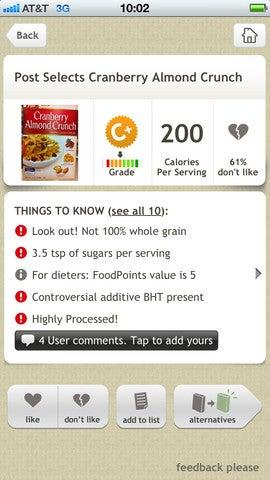 Health - apps Fooducate