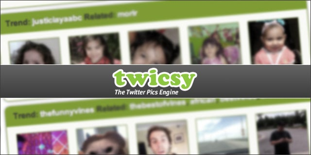 Twicsy Collects Twitter Trend Photos From Earthquakes To