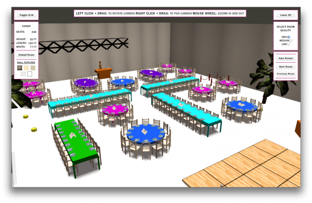 Social Tables - screenshot