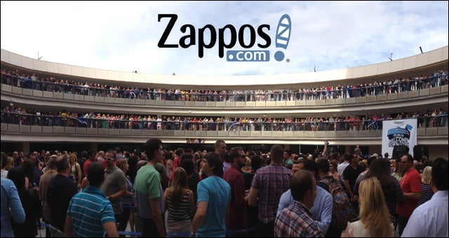 Zappos New Las Vegas Office Opens With Rainbows Unicorns