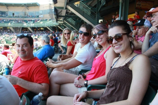 Formstack at Indy Indians Game