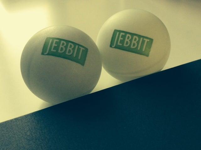 Jebbit ping pong balls