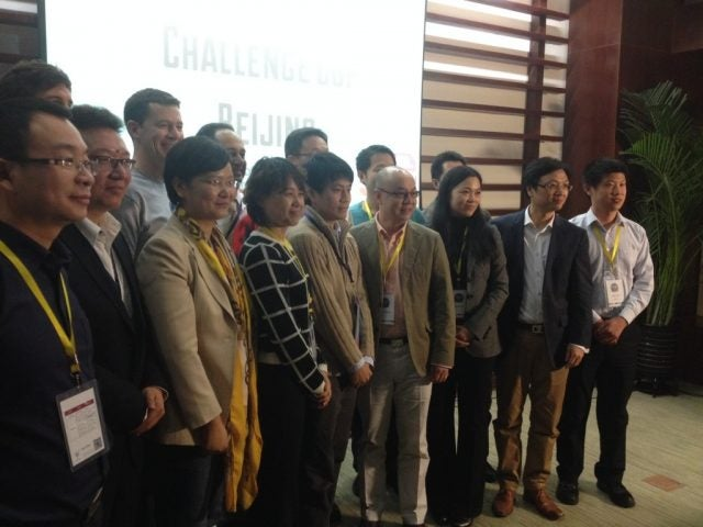Winning startups from The Challenge Cup Beijing