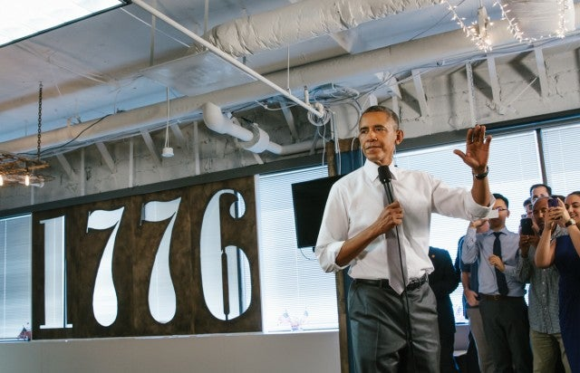 1776 Obama visit