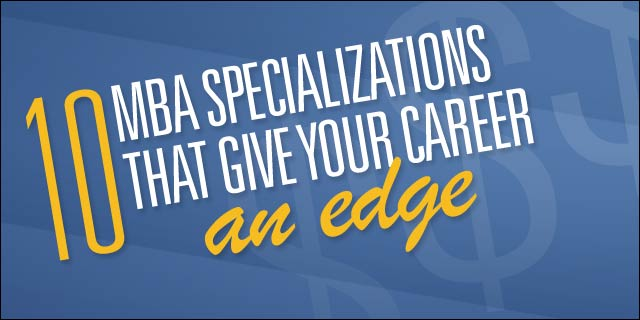 10 MBA Specializations That Give Your Career an Edge