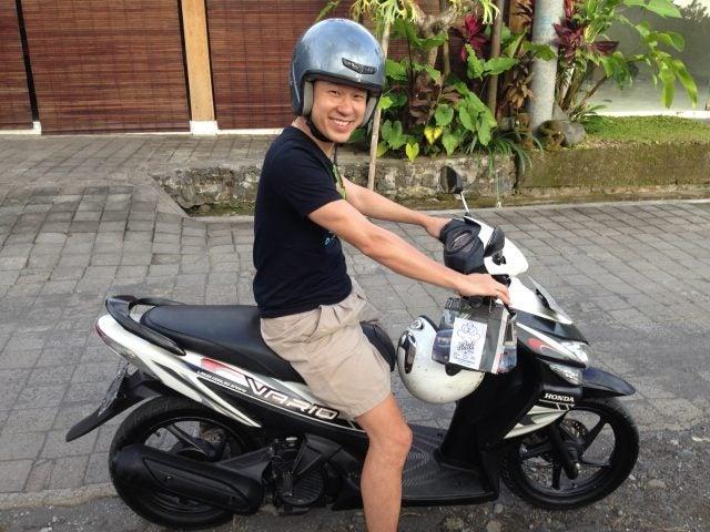 bali moto scooter