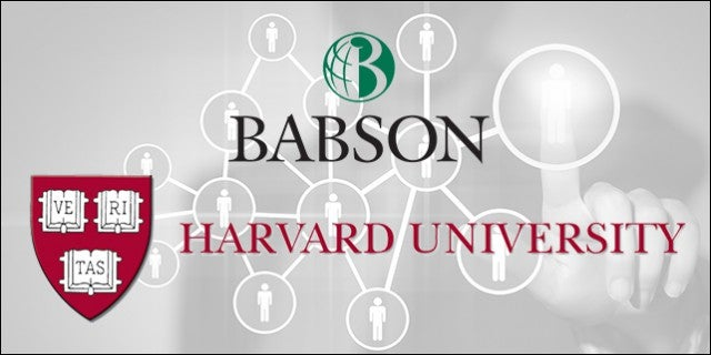 Harvard Babson Are Top Colleges For Entrepreneurship