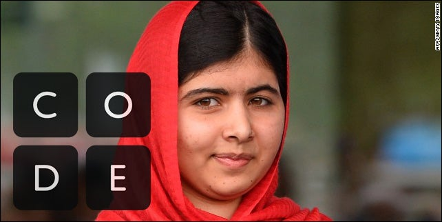 Nobel Laureate Malala Yousafzai Tells Girls to Code