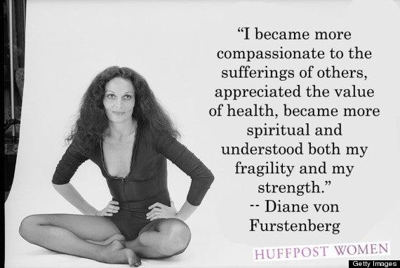 Portrait Of Diane von Furstenberg