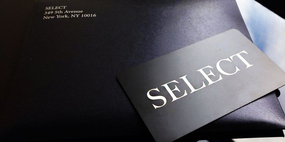 Nyc S Black Card Startup Select Expands To Dc In 2015