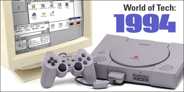 1994 The World Of Tech Launched Playstation And Www
