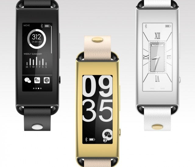 CES fitness trackers Lenovo Vibe Band