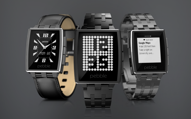 CES fitness trackers Pebble Steel