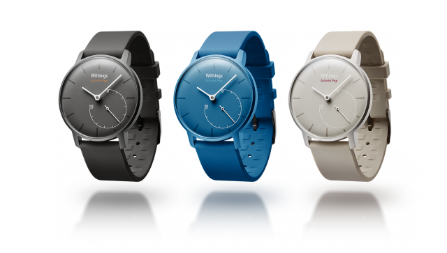 CES fitness trackers Withings Activite Pop
