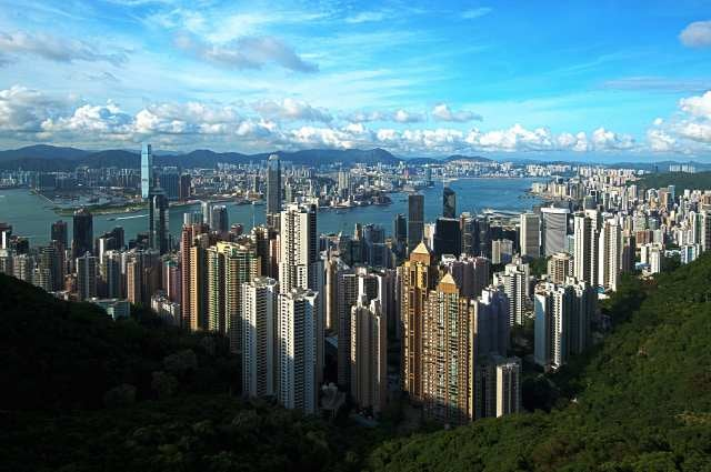 top startup cities Hong Kong