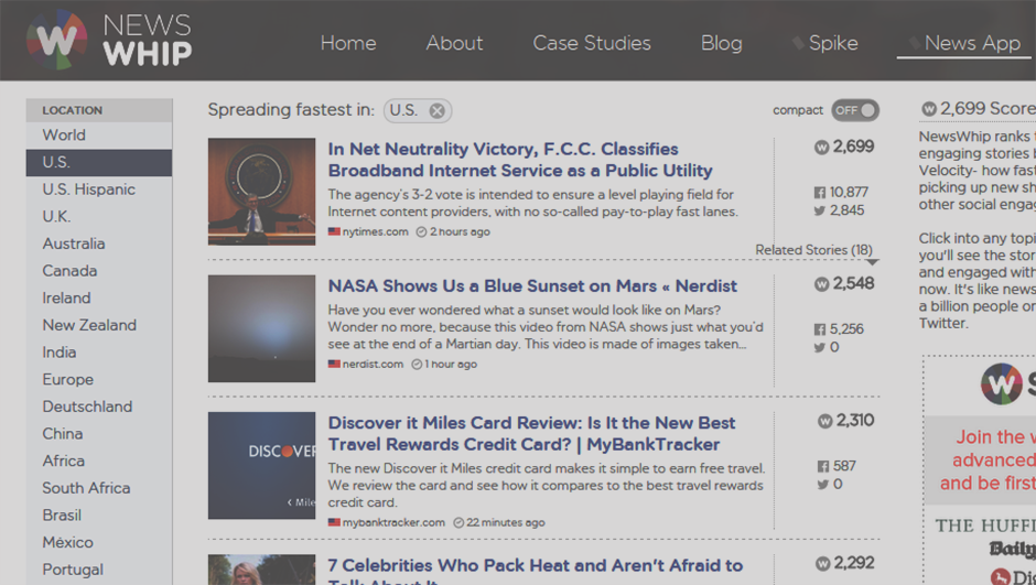16 Free Online Tools to Help You Find Trending Content