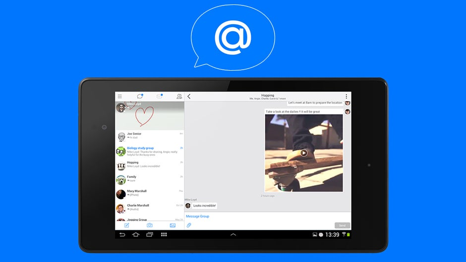 Hop, the Messenger that Reinvents Email