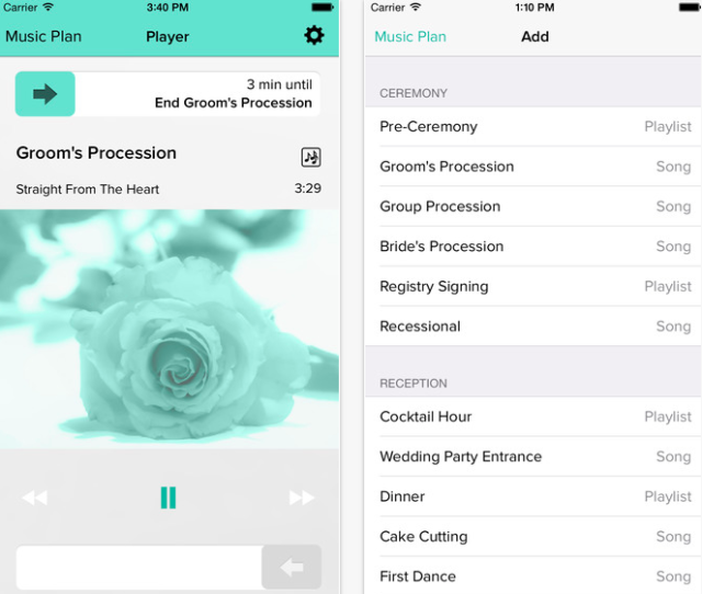 wedding dj app