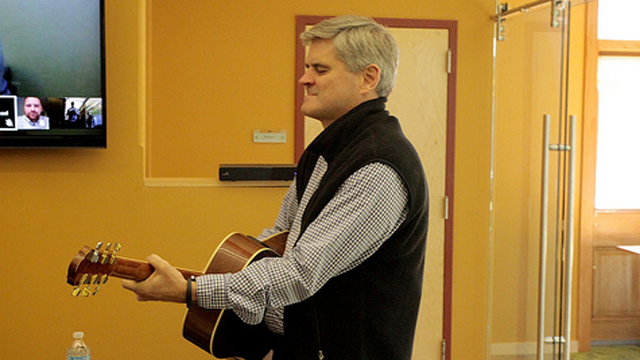 Steve Case Jams Guitar on Rise of the Rest
