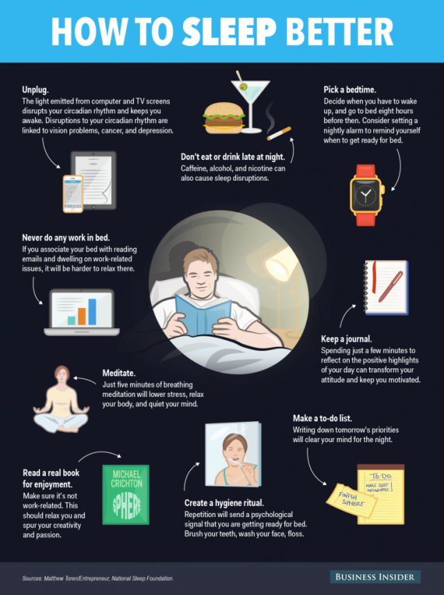 Business Insider: How to Sleep Better - Sleep Ritual