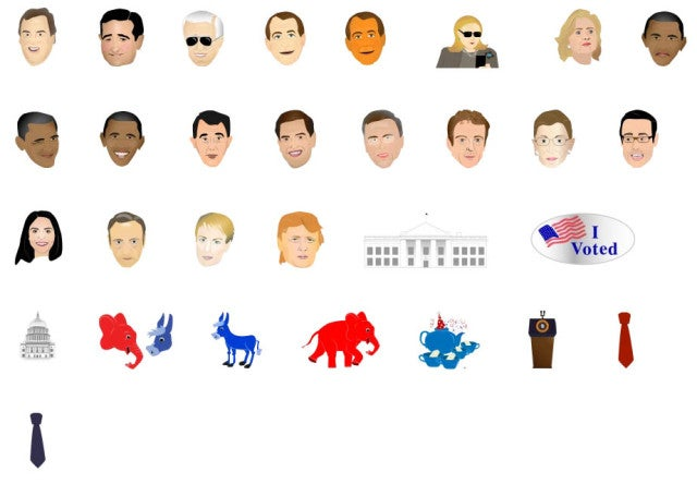 The Washington Post: Political Emojis