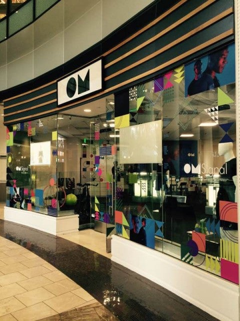 OMsignal's Pop-Up Shop at Bespoke in Westfield's San Francisco Centre