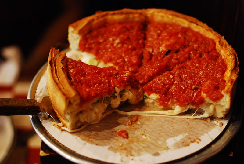 startup in Chicago deep dish pizza