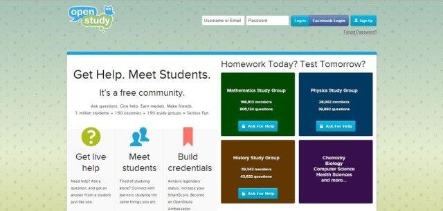Open Study screenshot