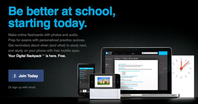 StudyBlue App Screenshot