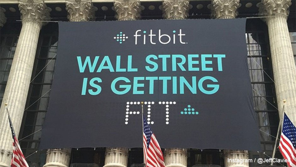 Fitbit Ipo Price Opens 52 Higher Than Expected