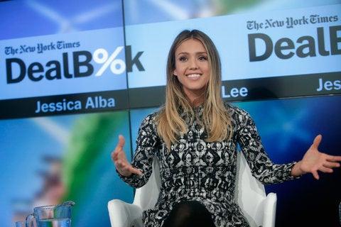 Jessica Alba tech conference
