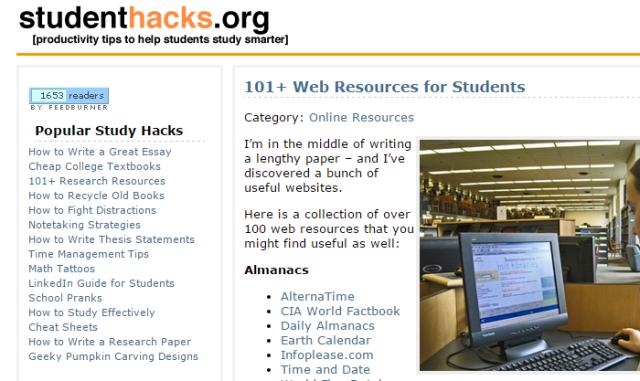 student hacks