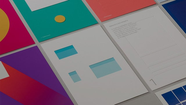 Google Material Design: 4 Lessons