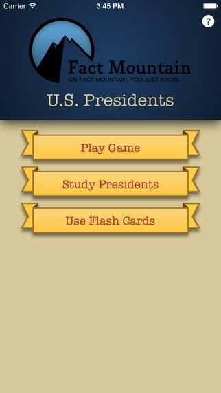 Fact mountain-uspresidents-app