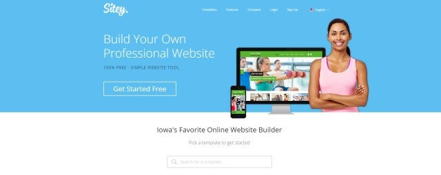7 Best Free Website Builders - Sitey