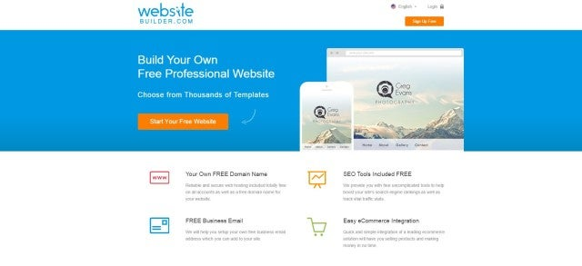 7 Best Free Website Builders - WebsiteBuilder