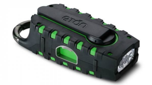 eton hand cranked flashlight
