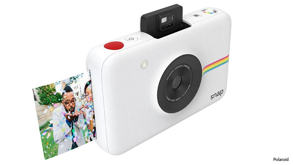 polaroid snap: a digital camera that prints inkless instant pos