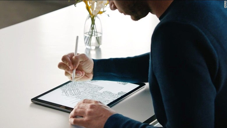 apple pencil - image via cnn.com