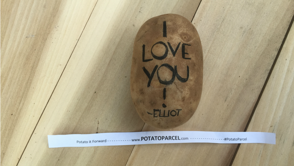 potato parcel weird holiday gifts