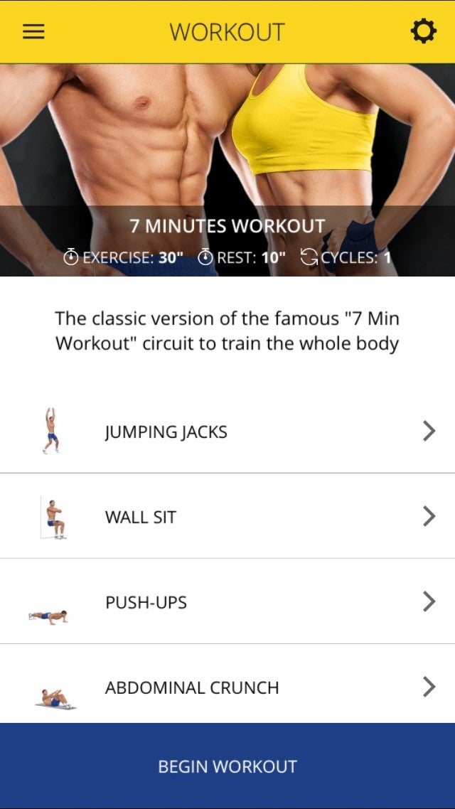 7 Minutes Pro: Your Personal Fitness Trainer in Your Pocket