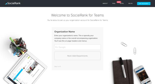 SocialRank for Teams #1