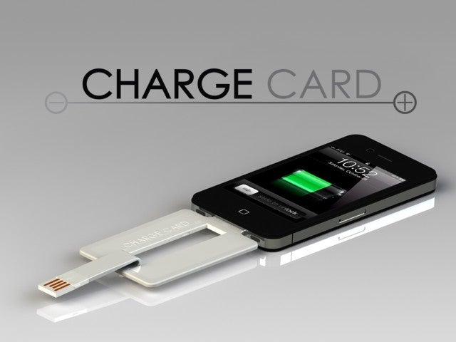 The original ChargeCard by Nomad